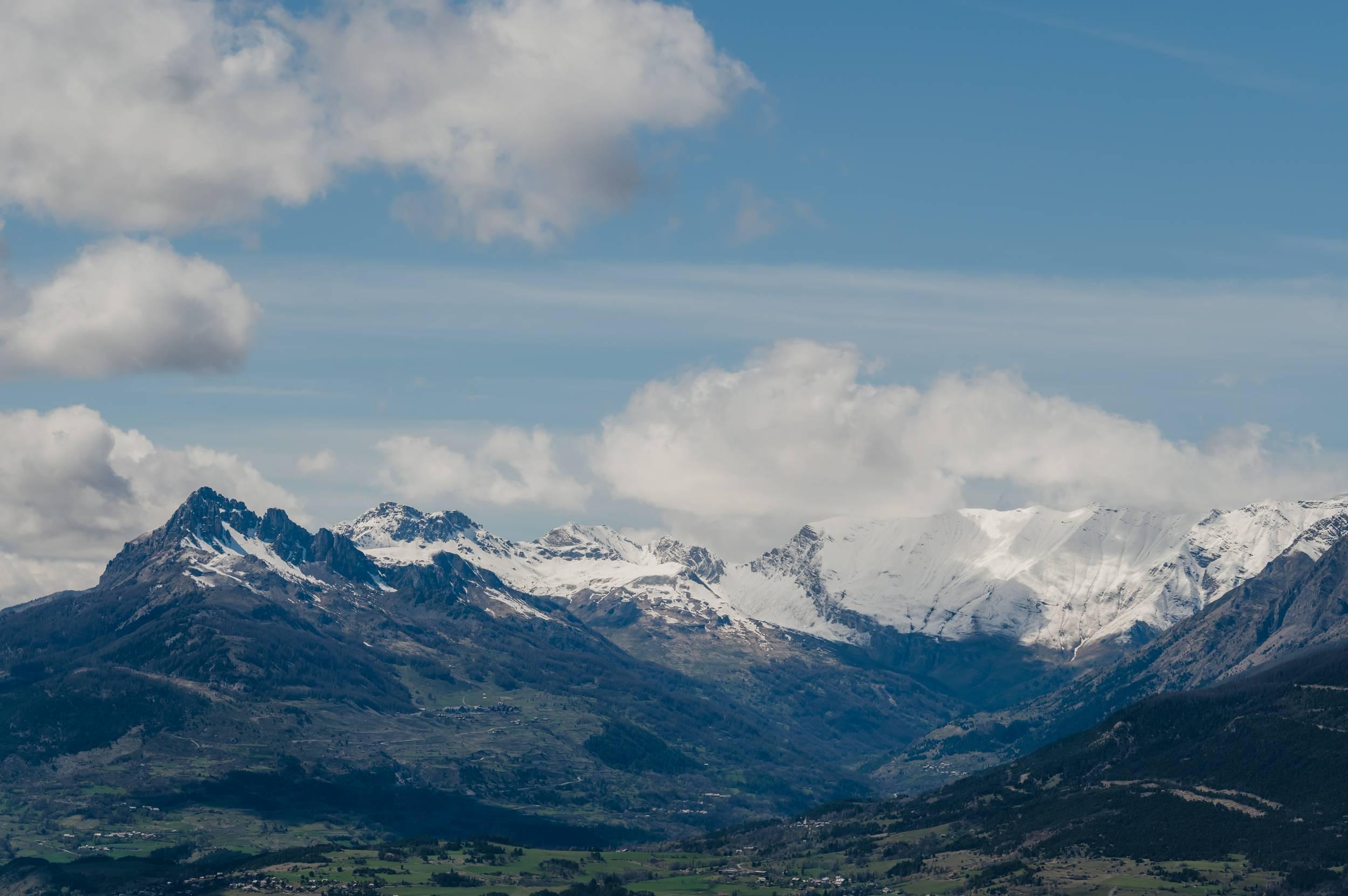Montagnes alpes du sud - Hautes Alpes