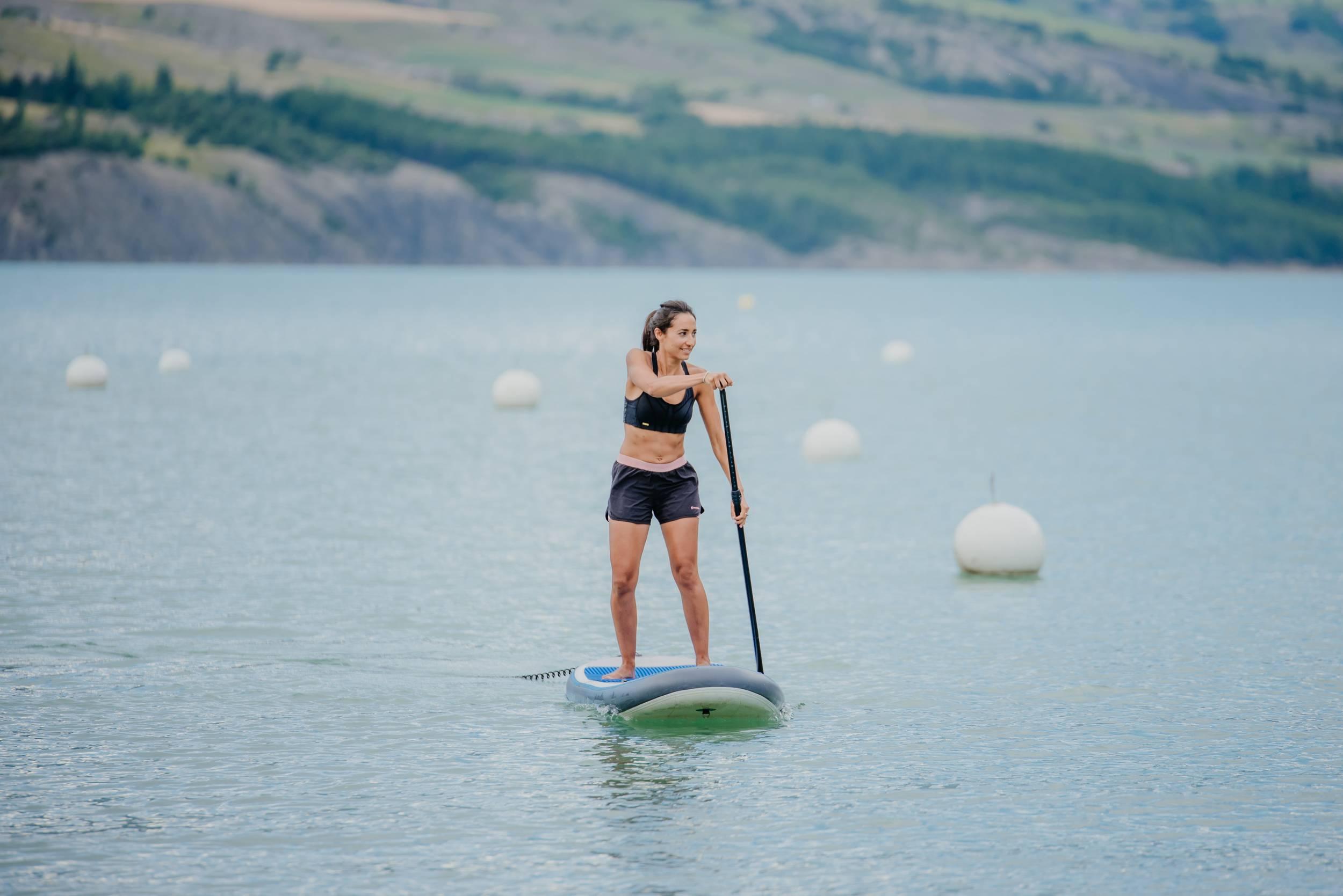 lac de serre poncon activité été