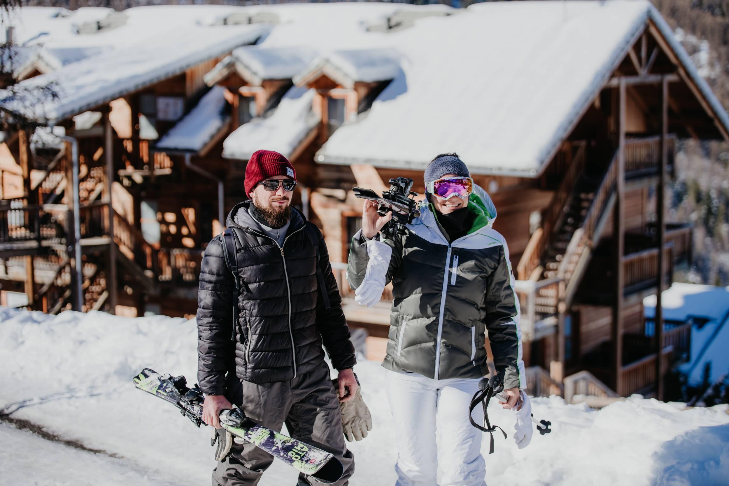 ski et station aux orres - Hautes Alpes