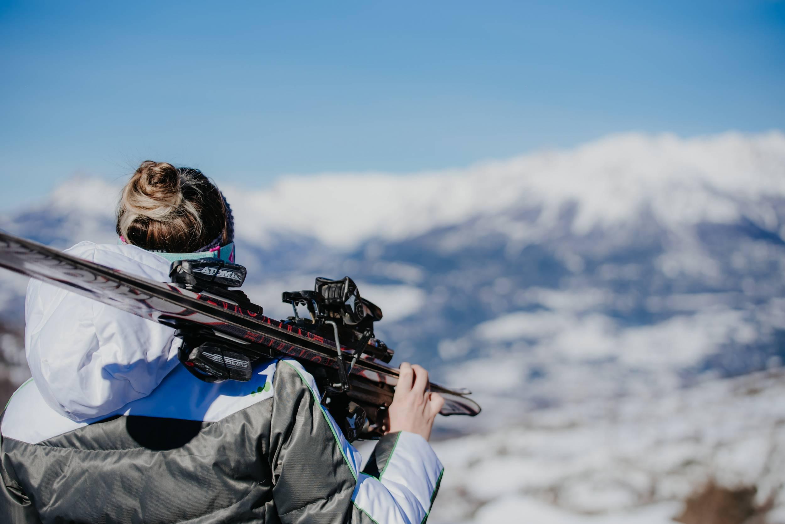 Skier aux Orres