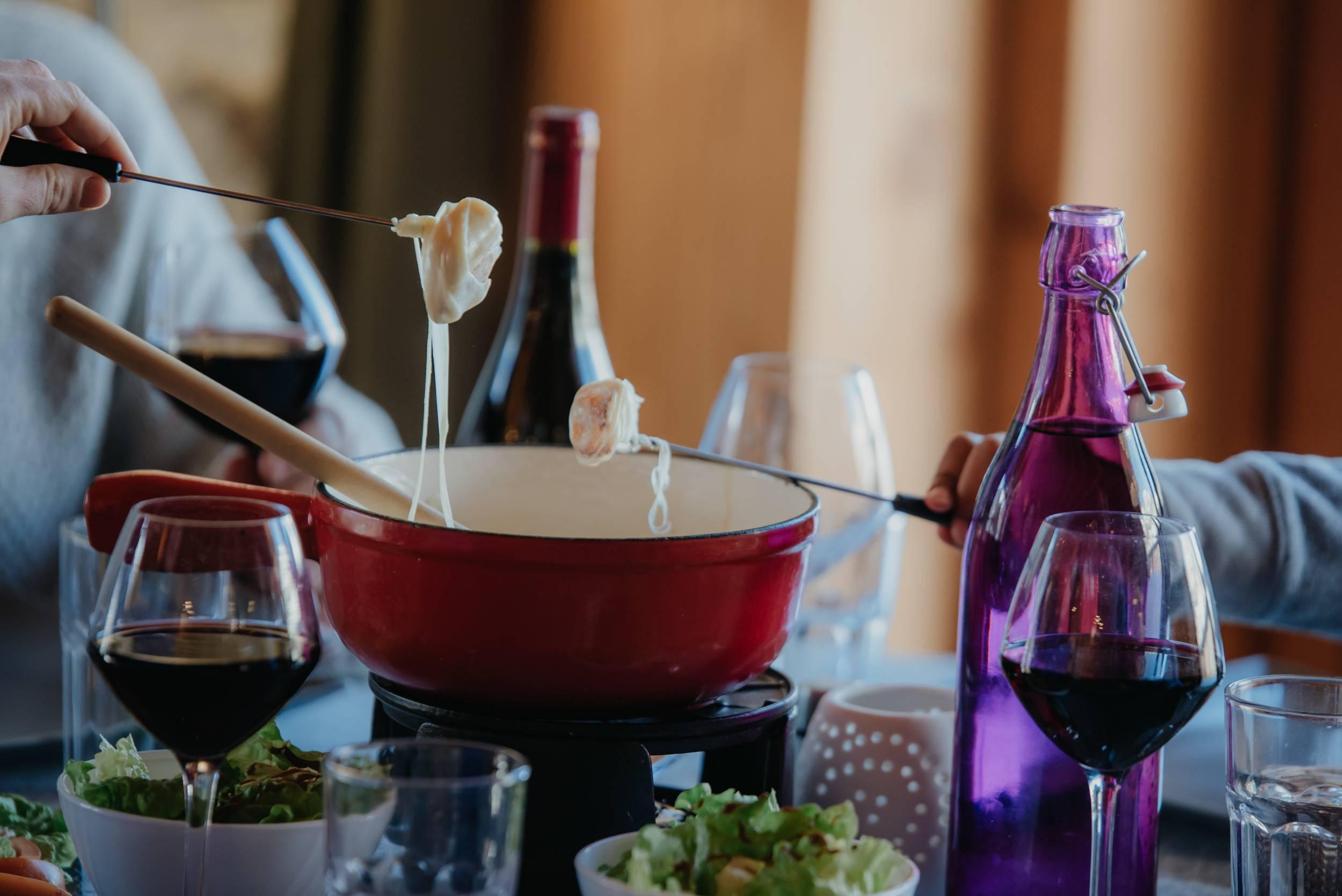 soirée raclette fondue