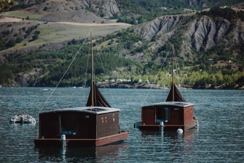 les toues cabanées du lac cabanes flottantes
